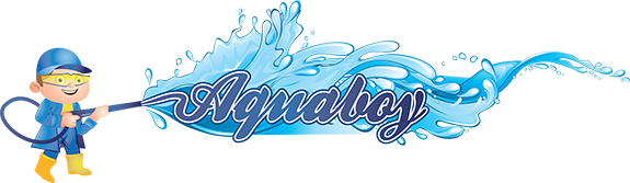 Aqua Boy Medford Power Washing Logo
